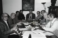 Fotoğraf (Nazım Hikmet Kültür ve Sanat Vakfı Yönetim Kurulu toplantısı)